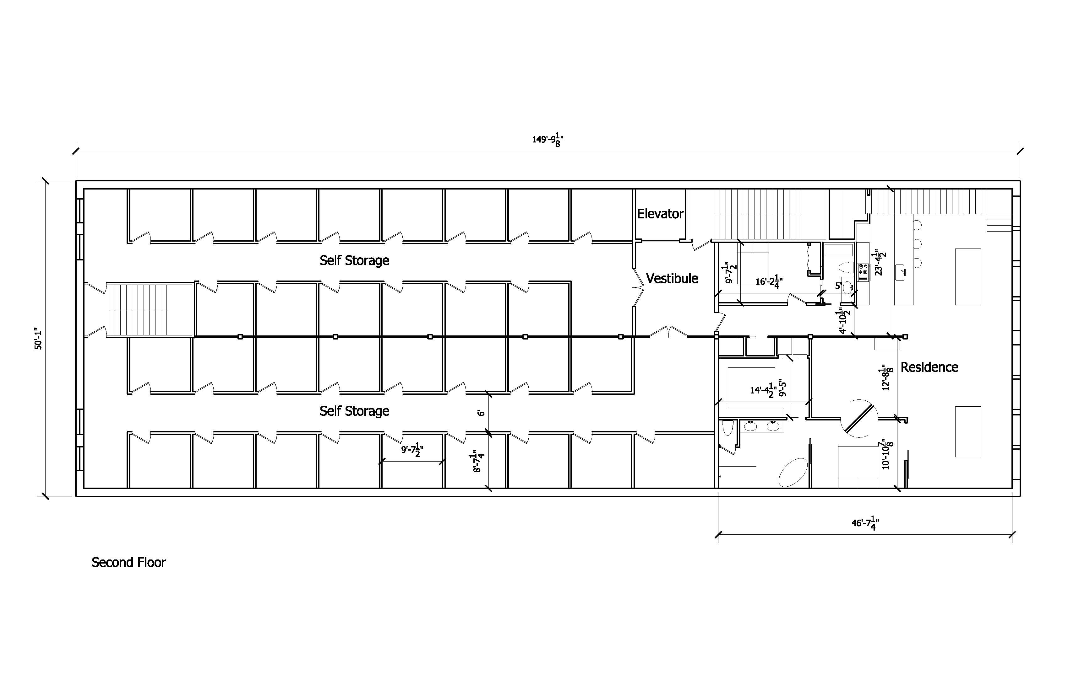 The plans 2nd avenue storage for Storage unit plans