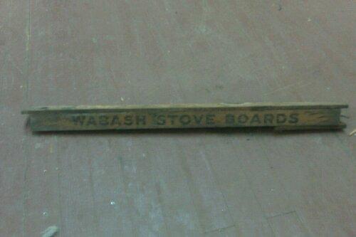 Wabash Stove Boards