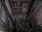 Elevator Shaft and lifting platform, from above